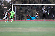 FC Farense score to make it 2-0 during the Pre-Season Friendly match between SC Farense and Forest Green Rovers at Estadio Municipal de Albufeira, Albufeira, Portugal on 25 July 2017. Photo by Shane Healey.