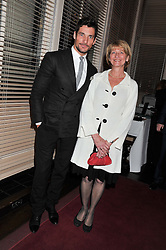DAVID GANDY and his mother BRENDA GANDY at the Audi Ballet Evening held at the Royal Opera House, Bow Street, Covent Garden, London on 22nd March 2012.