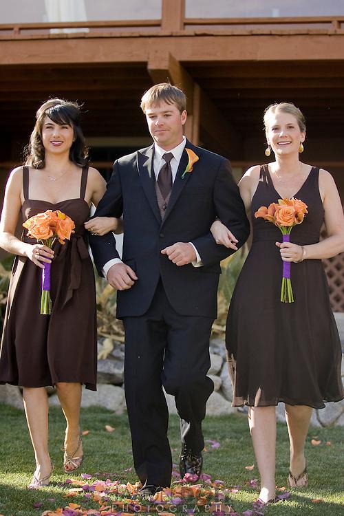 Maja and Rob's wedding ceremony..