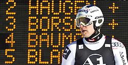 06.02.2011, Hannes-Trinkl-Strecke, Hinterstoder, AUT, FIS World Cup Ski Alpin, Men, Hinterstoder, Riesentorlauf, im Bild Romed Baumann (AUT) // Romed Baumann (AUT) during FIS World Cup Ski Alpin, Men, Giant Slalom in Hinterstoder, Austria, February 06, 2011, EXPA Pictures © 2011, PhotoCredit: EXPA/ J. Feichter