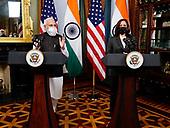 September 23, 2021 - IND/DC: Prime Minister Narendra Modi Meets Vice President Kamala Harris