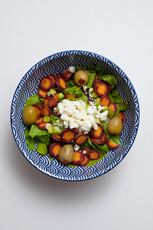 Feta & Baby Chard Salad from the fridge (m€)