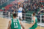 DESCRIZIONE : Avellino Lega A 2015-16 Sidigas Avellino Banco di Sardegna Sassari<br /> GIOCATORE : MarQuez Haynes<br /> CATEGORIA : tiro tre punti<br /> SQUADRA : Banco di Sardegna Sassari<br /> EVENTO : Campionato Lega A 2015-2016 <br /> GARA : Sidigas Avellino Banco di Sardegna Sassari<br /> DATA : 09/11/2015<br /> SPORT : Pallacanestro <br /> AUTORE : Agenzia Ciamillo-Castoria/A. De Lise <br /> Galleria : Lega Basket A 2015-2016 <br /> Fotonotizia : Avellino Lega A 2015-16 Sidigas Avellino Banco di Sardegna Sassari