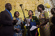SIR DAVID ADJAYE, OPENING OF THE GHANA PAVILION, Designed by David Adjaye, Opening of the Venice Biennale, Venice, 8 May 2019