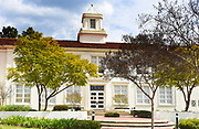 Lou Henry Hoover Memorial Hall on the campus of Whittier College