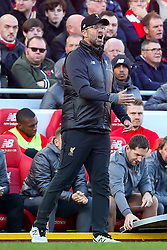 Liverpool manager Jurgen Klopp and Trent Alexander-Arnold of Liverpool cut frustrated figures - Mandatory by-line: Robbie Stephenson/JMP - 11/11/2018 - FOOTBALL - Anfield - Liverpool, England - Liverpool v Fulham - Premier League
