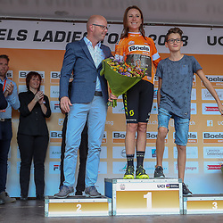 30-08-2018: Wielrennen: Ladies Tour: Gennep<br />Annemiek van Vleuten blijft leidster