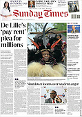 March 14, 2021 (AFRICA): Front-page: Today's Newspapers In Africa