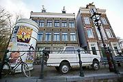 Nederland, Arnhem, 3-3-2020 Nederlands Openluchtmuseum. Oud Hollandse bouwkunst. Amsterdam,jordaan,gracht,grachten,amsterdams,vroeger,nostalgie,geschiedenis,historie,historisch,historische, Foto: Flip Franssen