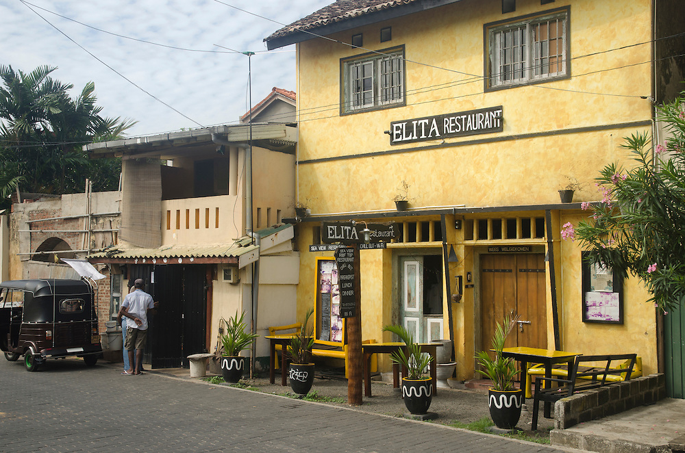 Elita restaurant in Galle Fort, Sri Lanka