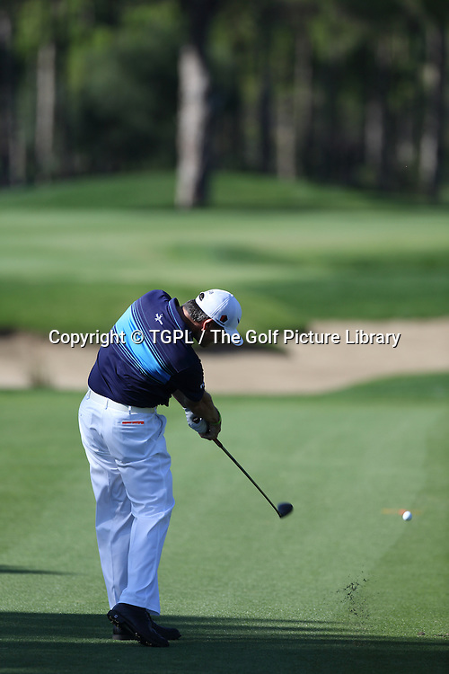 during second round Turkish Airlines Open by Ministry of Culture and Tourism 2013,Montgomerie Course at Maxx Royal,Belek,Antalya,Turkey.