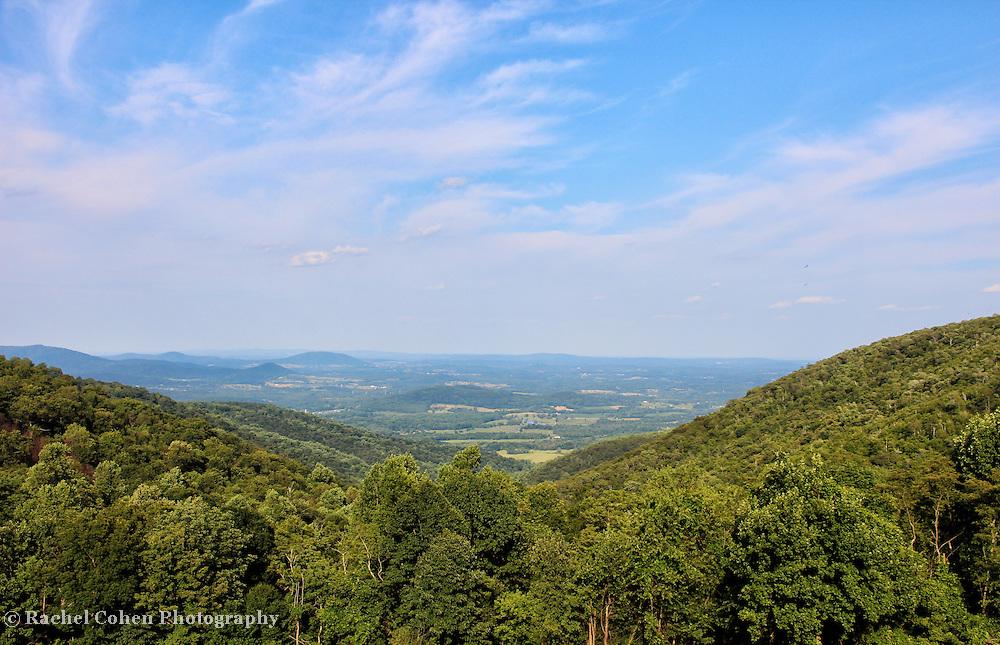 """Shenandoah Valley""<br /> <br /> The Blue Ridge Mountains by Rachel Cohen"
