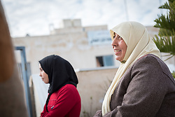 16 February 2020, Irbid, Jordan: A group of women converse after participating in a psychosocial support session for Syrian refugees and Jordanian host community families, organized by the Lutheran World Federation at the Islamic Centre in Al-Mazar.