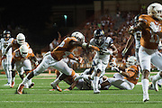 AUSTIN, TX - SEPTEMBER 19:  Tre Watson #5 of the California Golden Bears breaks free against the Texas Longhorns on September 19, 2015 at Darrell K Royal-Texas Memorial Stadium in Austin, Texas.  (Photo by Cooper Neill/Getty Images) *** Local Caption *** Tre Watson