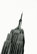 Image of the Empire State building in New York City, New York  by Andrea Wells