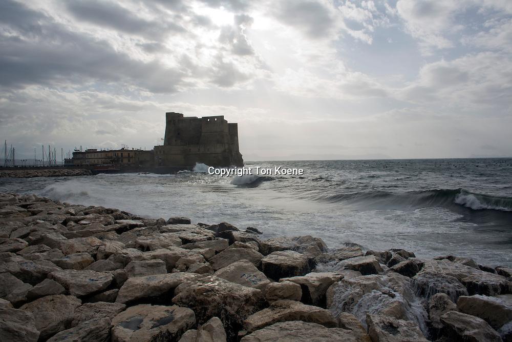 castle dell'ovo at borge mariani, Italy