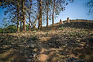 Hill A1 'Eliane 2' in Dien Bien Phu, Muong Thanh Valley, Dien Bien Province, Vietnam, Southeast Asia.