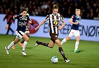 Fotball , 12. april 2019 , Eliteserien , Strømsgodset - Mjøndalen 2-3<br /> Quint Jansen , MIF<br /> Mustafa Abdellaoue , SIF