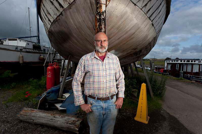 112112/9 Sea People Project - Tony Boughton, Manager of Iron Wharf, Faversham, Kent