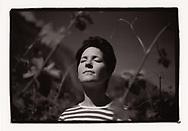 Sarah Besse du Domaine Gérald Besse, en mai 2020 à Martigny<br /> En collaboration avec l'IVV (interprofession de la vigne et du vin en Valais)<br /> Viticulture, vigne, cave, vigneron, vin, agriculture, raisin, Suisse, Valais<br /> Project terre rare, connecté a la terre<br /> #photoargentique #noiretblanc #noiretblancphotographie #blackandwhite #blackandwhitephotography #photoargentique #photographieargentique #leica #leicamp #ilford #labophoto #terrerare #terresrares #terrerareprojet @omaire. <br /> (STUDIO_54/ OLIVIER MAIRE)