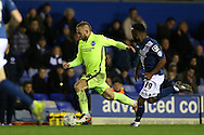 Brighton striker Jiri Skalak (38) during the Sky Bet Championship match between Birmingham City and Brighton and Hove Albion at St Andrews, Birmingham, England on 5 April 2016.