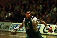 Handball, NOrge-Algerie herrer, Kongsberghallen 2001. Tahar Labane, Algerie.