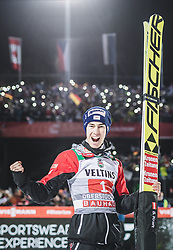 30.12.2018, Schattenbergschanze, Oberstdorf, GER, FIS Weltcup Skisprung, Vierschanzentournee, Oberstdorf, Siegerehrung, im Bild 3. Platz Stefan Kraft (AUT) // 3rd placed Stefan Kraft of Austria during the winner Ceremony for the Four Hills Tournament of FIS Ski Jumping World Cup at the Schattenbergschanze in Oberstdorf, Germany on 2018/12/30. EXPA Pictures © 2018, PhotoCredit: EXPA/ JFK