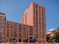 Exterior image of Basilica Place Apts in Baltimore Maryland by Jeffrey Sauers of Commercial Photographics, Architectural Photo Artistry in Washington DC, Virginia to Florida and PA to New England