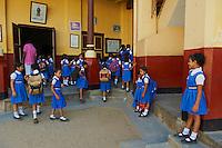 Inde, Etat du Kerala, Kochi ou Cochin, Fort Cochin le centre historique, Ecole de Santa Cruz // India, Kerala State, Fort cochin or Kochi, Santa Cruz school