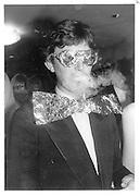 Charles Ingleby. Metallic Ball, Glazien Hall 13 December 1987. © Copyright Photograph by Dafydd Jones 66 Stockwell Park Rd. London SW9 0DA Tel 020 7733 0108 www.dafjones.com
