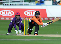Cricket - 2019 Women's Cricket Kia Super League - Semi-Final: Loughborough Lightning vs. Southern Vipers<br /> <br /> Tammy Beaumont of Southern Vipers, with a reverse swing at County Cricket Ground, Hove.<br /> <br /> COLORSPORT/ANDREW COWIE