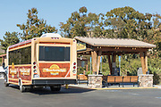 Shuttle Stop at Crystal Cove State Beach