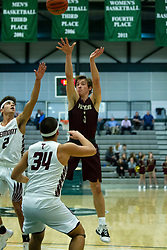 21 January 2020: Le Roy Panthers v Tremont Turks 2nd Round Basketball games during the 109th 2020 McLean County Tournament at Shirk Center in Bloomington IL<br /> <br /> Photo by Alan Look