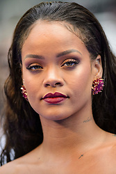 Rihanna attending the European premiere of Valerian and the City of a Thousand Planets at Cineworld in Leicester Square, London. PRESS ASSOCIATION Photo. Picture date: Monday July 24th, 2017. Photo credit should read: Matt Crossick/PA Wire.