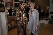 BATIA OFER, REBECCA SALTER, 2019 Royal Academy Annual dinner, Piccadilly, London.  3 June 2019