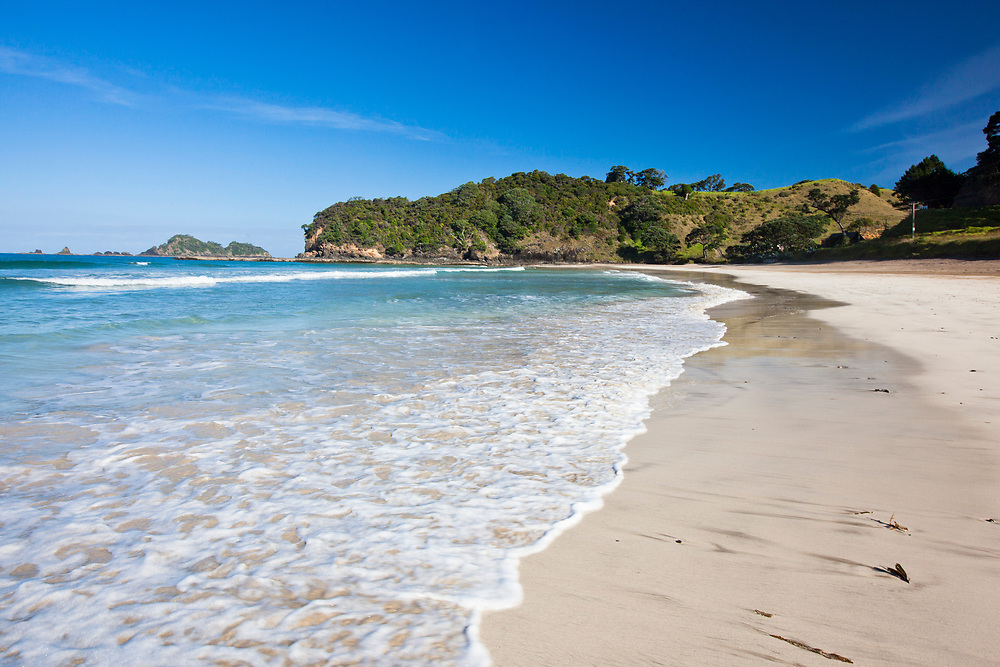 Moureeses Bay, a white sandy Northland beach <br /> perfect for swimming, diving, snorkelling, fishing and walks.