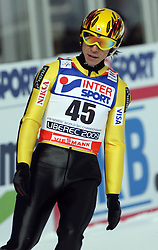 Noriaki Kasai of Japan at Normal Hill Individual Ski jumps at FIS Nordic World Ski Championships Liberec 2008, on February 21, 2009, in Jested, Liberec, Czech Republic. (Photo by Vid Ponikvar / Sportida)