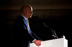 © London News Pictures. 14/03/2013 . London, UK.  British Foreign Minister William Hague speaking at the British Chambers of Commerce annual conference at Central Hall, Westminster, London on  Thursday, March 14, 2013. Photo credit : Ben Cawthra/LNP