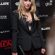 Rebecca Ferdinando Arrivers at Once Upon a Time in London - London premiere of the rise and fall of a nationwide criminal empire that paved the way for notorious London gangsters the Kray Twins and the Richardsons at The Troxy 490 Commercial Road, on 15 April 2019, London, UK.