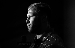Ross Moriaty of Gloucester Rugby is interviewed at the Aviva Premiership Rugby 2017/18 season launch - Mandatory by-line: Robbie Stephenson/JMP - 24/08/2017 - RUGBY - Twickenham - London, England - Premiership Rugby Launch
