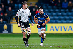 Worcester Number 8 Marco Mama in action - Mandatory byline: Rogan Thomson/JMP - 16/01/2016 - RUGBY UNION - Sixways Stadium - Worcester, England - Worcester Warriors v Zebre Rugby - European Rugby Challenge Cup.