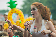 Glass animals play the Obelisk Stage with a distinct pineapple theme - The 2017 Latitude Festival, Henham Park. Suffolk 15 July 2017