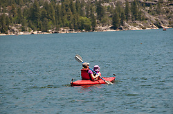 Pinecrest Lake, Watersports, Pinecrest, California, USA.  Photo copyright Lee Foster.  Photo # california122530