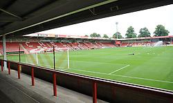 General views inside the stadium- Mandatory by-line: Nizaam Jones/JMP - 21/07/2018 - FOOTBALL - Jonny-Rocks Stadium - Cheltenham, England - Cheltenham Town v Birmingham City - Pre-season friendly