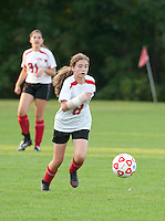 Girls Varsity Soccer Laconia versus Belmont at Robbie Mills Memorial Sports Complex.  (Karen Bobotas/for the Laconia Daily Sun)Girls Varsity Soccer Laconia versus Belmont at Robbie Mills Memorial Sports Complex.  (Karen Bobotas/for the Laconia Daily Sun)
