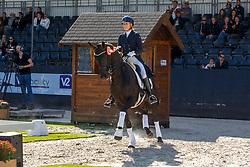 Van Kempen Floor, NED, Echt Mooi<br /> Nederlands Kampioenschap dressuur<br /> Ermelo 2020<br /> © Hippo Foto - Sharon Vandeput<br /> 20/09/2020