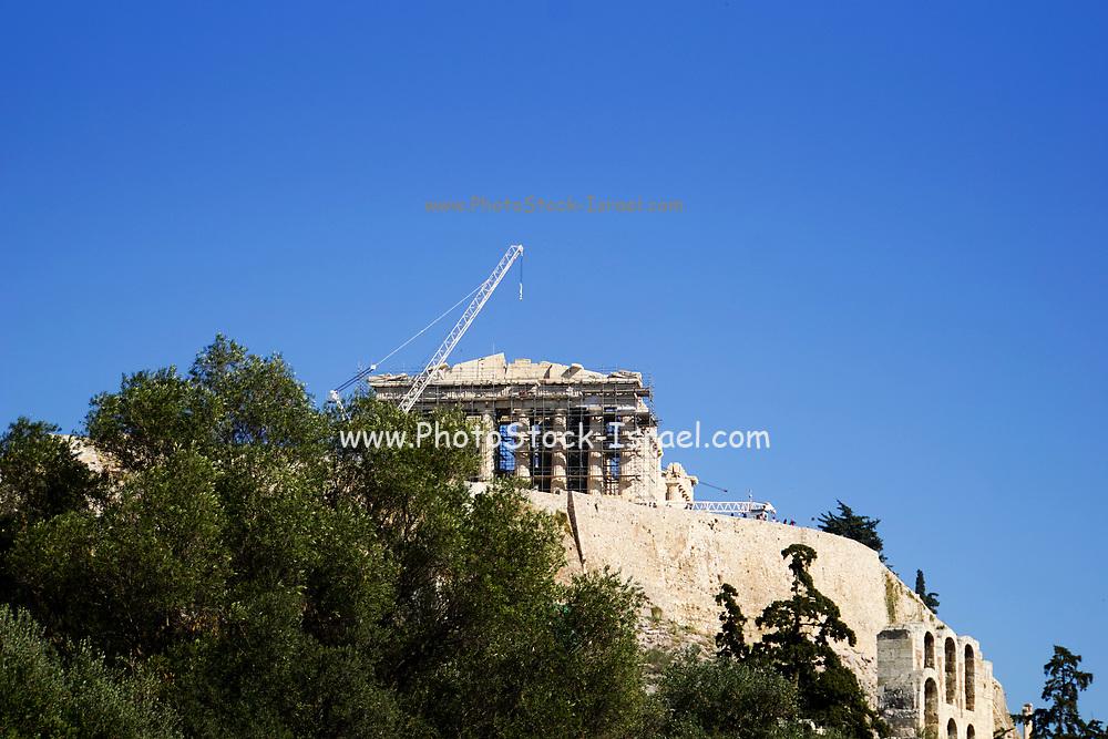 Greece, Athens, Acropolis hill