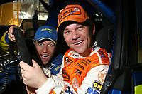 Motor<br /> Foto: Dppi/Digitalsport<br /> NORWAY ONLY<br /> <br /> AUTO - WRC 2006 - ARGENTINA RALLY - CARLOS PAZ 30/04/2006 <br /> <br /> PETTER SOLBERG (NOR) / SUBARU IMPREZA WRC 2006 - AMBIANCE - PORTRAIT<br /> HENNING SOLBERG (NOR) / PEUGEOT 307 WRC TEAM OMV NORWAY - AMBIANCE - PORTRAIT BROTHER FAMILY FUNNY SELECTION