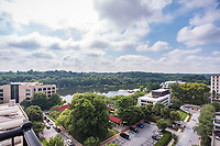 Exterior photo of Lakehouse Apartments in Columbia MD by Jeffrey Sauers of Commercial Photographics, Architectural Photo Artistry in Washington DC, Virginia to Florida and PA to New England