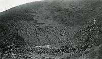 1922 Easter Sunrise Service at the Hollywood Bowl